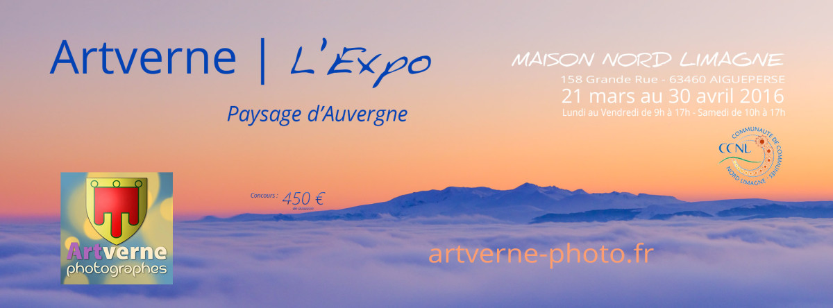 Artverne Photo | L'expo - 21 mars au 30 avril 2016 | Maison Nord Limagne | Aigueperse